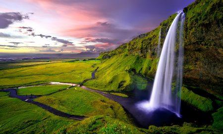 Cascade Seljalandsfoss en Islande